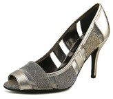 J. Renee Jemma Women N/s Peep-toe Synthetic Bronze Heels.