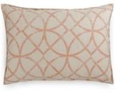 Hotel Collection Textured Lattice Linen King Sham