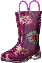 Western Chief Abstract Blooms Light-Up Rain Boot