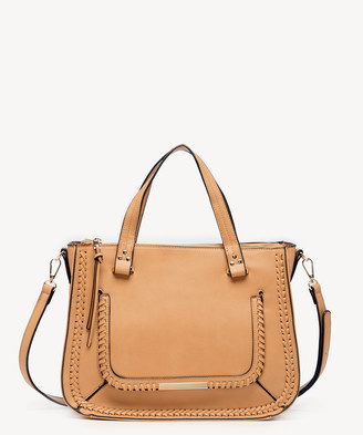Sole Society Women's Dayla Satchel Vegan Leather In Color: Canyon Bag From