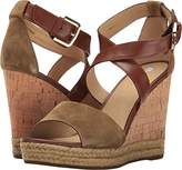 Geox Women's W Janira 9 Wedge Sandal,39.5 EU/9.5 M US