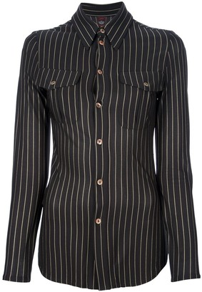 Jean Paul Gaultier Pre-Owned Fitted Striped Shirt
