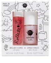 NAILMATIC Fairytales Lip Gloss & Nail Polish Duo