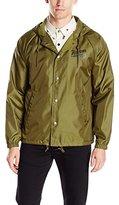 Brixton Men's Maverick Standard Fit Hooded Windbreaker Jacket