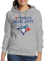 Sarah Women's 2016 Playoff Toronto Blue Jays Logo Hoodie L