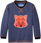 Kapital K Fox Jersey Graphic Tee (Baby) - Miles Blue - 24 Months