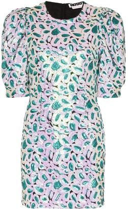 Rotate by Birger Christensen Christina sequinned mini dress