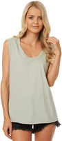 Swell Scoop Relaxed Tank Green
