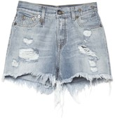 R 13 Shredded Slouch Short