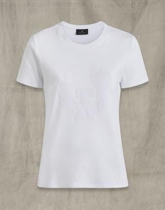 Belstaff MARIOLA APPLIQUE PHOENIX T-SHIRT White
