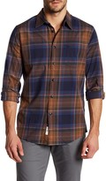 Dockers Slim Fit Dmitry Long Sleeve Plaid Shirt