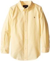 Polo Ralph Lauren Solid Oxford Shirt (Little Kids/Big Kids)