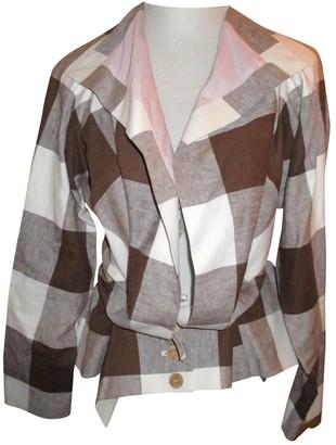 Bernhard Willhelm Brown Cotton Jacket for Women
