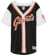 PINK San Francisco Giants Mesh Button Down Jersey