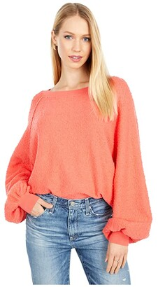 Free People Found My Friend Pullover (Black) Women's Clothing