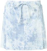 Thakoon denim mini skirt