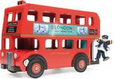 Le Toy Van Wooden Budkins London bus