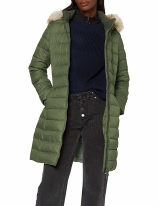 Tommy Jeans Women's Tjw Essential Hooded Down Coat Jacket