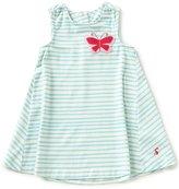 Joules Baby/Little Girls 12 Months-3T Eloise Striped Butterfly Trapeze Dress