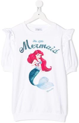 MonnaLisa The Little Mermaid print T-shirt