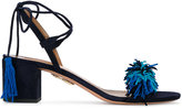 Aquazzura 'Wild Thing' sandals - women - Leather/Suede - 36