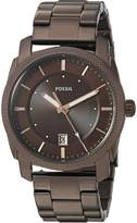 Fossil Men's 'Machine' Quartz Stainless Steel Casual Watch, Color: (Model: FS5370)
