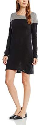 DDP Women's F9DUOWY Cocktail Short Sleeve Party Dress - Black - UK 6
