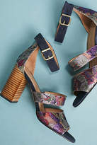 Anthropologie Mosaic Heels