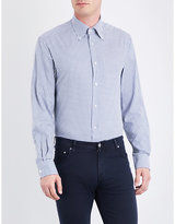 Ralph Lauren Purple Label Gingham Regular-fit Cotton Shirt