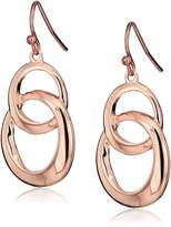 T Tahari Circles Drop Earrings