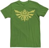 Nintendo Men's Zelda Ornate Hyrulian Emblem Tee
