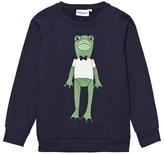Mini Rodini Navy Frog Sweatshirt