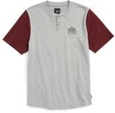 Vans Boy's Hitson Ii Henley T-Shirt