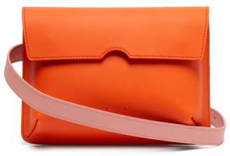 Pb 0110 Ab65 Leather Belt Bag - Womens - Orange Multi