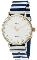 Timex Fairfield Nylon Slip-Thru Strap