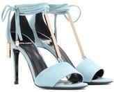 Pierre Hardy Blondie Suede Sandals