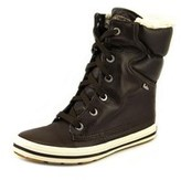 Keds Droplet Round Toe Leather Snow Boot.