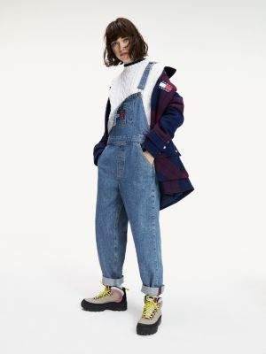 Tommy Hilfiger Americana Straight Fit Dungarees