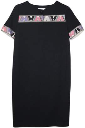 Emilio Pucci Black Wool Dress for Women