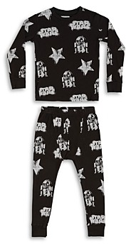 Nununu Unisex Star Wars Printed Tee & Pants Set - Little Kid