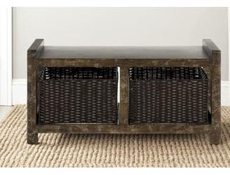 Safavieh Arnold Wood Storage Bench