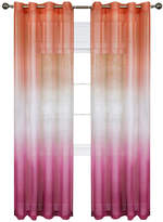 Asstd National Brand Rainbow Sheer Grommet-Top Curtain Panel