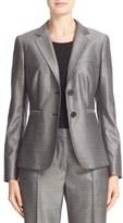 Max Mara Gomito Stretch Wool & Silk Jacket