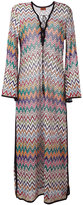 Missoni zig zag dress - women - Polyester/Cupro/Viscose - 38