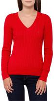 Tommy Hilfiger Im Ivy Cable V-Neck Sweater