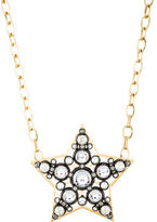 Lanvin Crystal Star Pendant Necklace