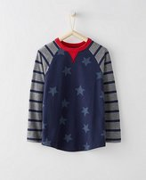 Boys Baseball Tee In Supersoft Jersey
