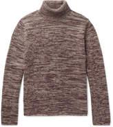 Massimo Alba Athos Mélange Cashmere Rollneck Sweater