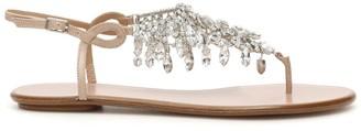 Aquazzura Embellished Thong Sandals