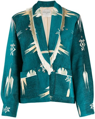 Forte Forte Blue Mountain bomber jacket